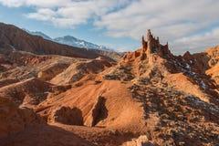 红色峡谷 免版税库存照片