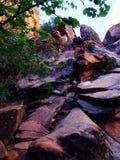 红色峭壁-飓风犹他 免版税图库摄影