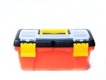 红色工具箱 免版税库存照片