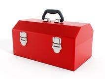 红色工具箱 向量例证
