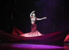 红色巫婆印度记忆这奥地利的世界舞蹈 免版税库存图片