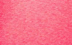 红色布料纹理  免版税图库摄影