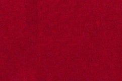 红色布料纹理 免版税库存照片