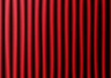 红色帷幕和木地板传染媒介例证 库存照片