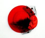 红色帽子 免版税图库摄影