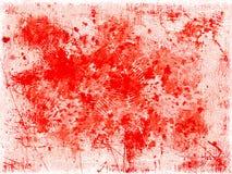 红色弄脏背景 图库摄影