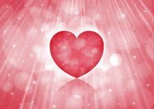 红色心脏 库存图片