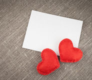 红色心脏 库存照片