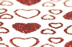 红色心脏 免版税图库摄影