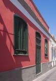 红色房子 库存照片