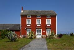 红色房子 图库摄影