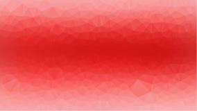 红色抽象几何弄皱的三角低多样式例证图表背景 免版税库存图片
