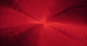 红色抽象线曲线微粒背景 图库摄影