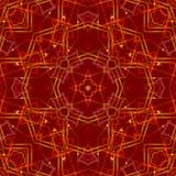 红色抽象背景,光 图库摄影