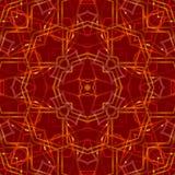 红色抽象背景,光 免版税库存图片