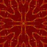 红色抽象背景,光 免版税库存照片