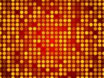 红色抽象背景,微粒圈子 免版税库存照片