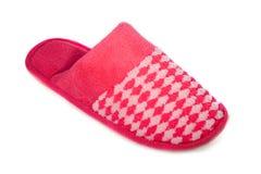 红色拖鞋 免版税库存照片