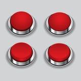 红色按钮传染媒介例证 皇族释放例证
