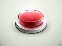 红色按钮 库存照片