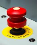 红色按钮 免版税库存照片