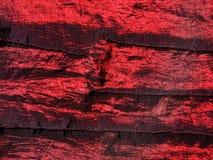红色改变的丝绸 免版税库存图片