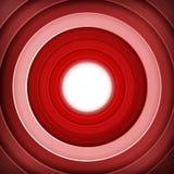 红色敲响数字式目标 图库摄影