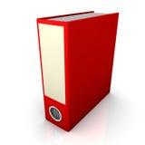 红色文件夹 库存图片