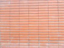 红色新的砖墙纹理,陶瓷 免版税库存照片