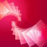 红色方形字体抽象背景  库存照片
