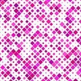 洋红色方形的样式背景 免版税库存照片