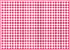 红色方格的背景 皇族释放例证