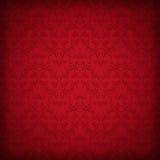 红色无缝的墙纸 免版税库存照片