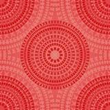 红色无缝的样式 库存图片