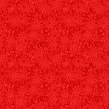 红色无缝的特征模式 向量例证