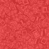红色无缝的长方形背景 免版税图库摄影