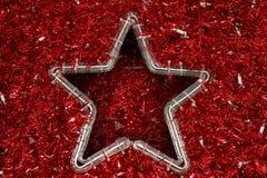红色星形 免版税库存照片