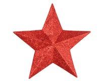 红色星形 库存照片