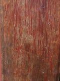 红色木头 库存照片