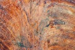 红色木抽象背景 免版税库存照片