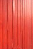 红色木板条墙壁纹理背景 图库摄影