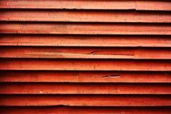 红色木板条的背景图象和木背景与纹理和相称线和形状 免版税库存图片