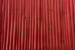 红色木背景 免版税库存照片