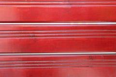 红色木水平的纹理背景 库存照片