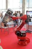 红色机器人 库存照片