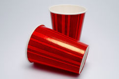 红色杯子 库存图片