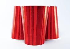 红色杯 库存照片