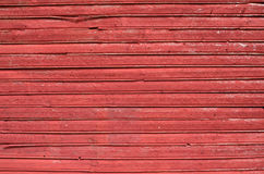 红色板条墙壁 图库摄影