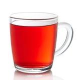红色果子茶 免版税库存照片