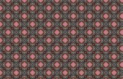 红色桃红色灰色导线几何样式设计 皇族释放例证